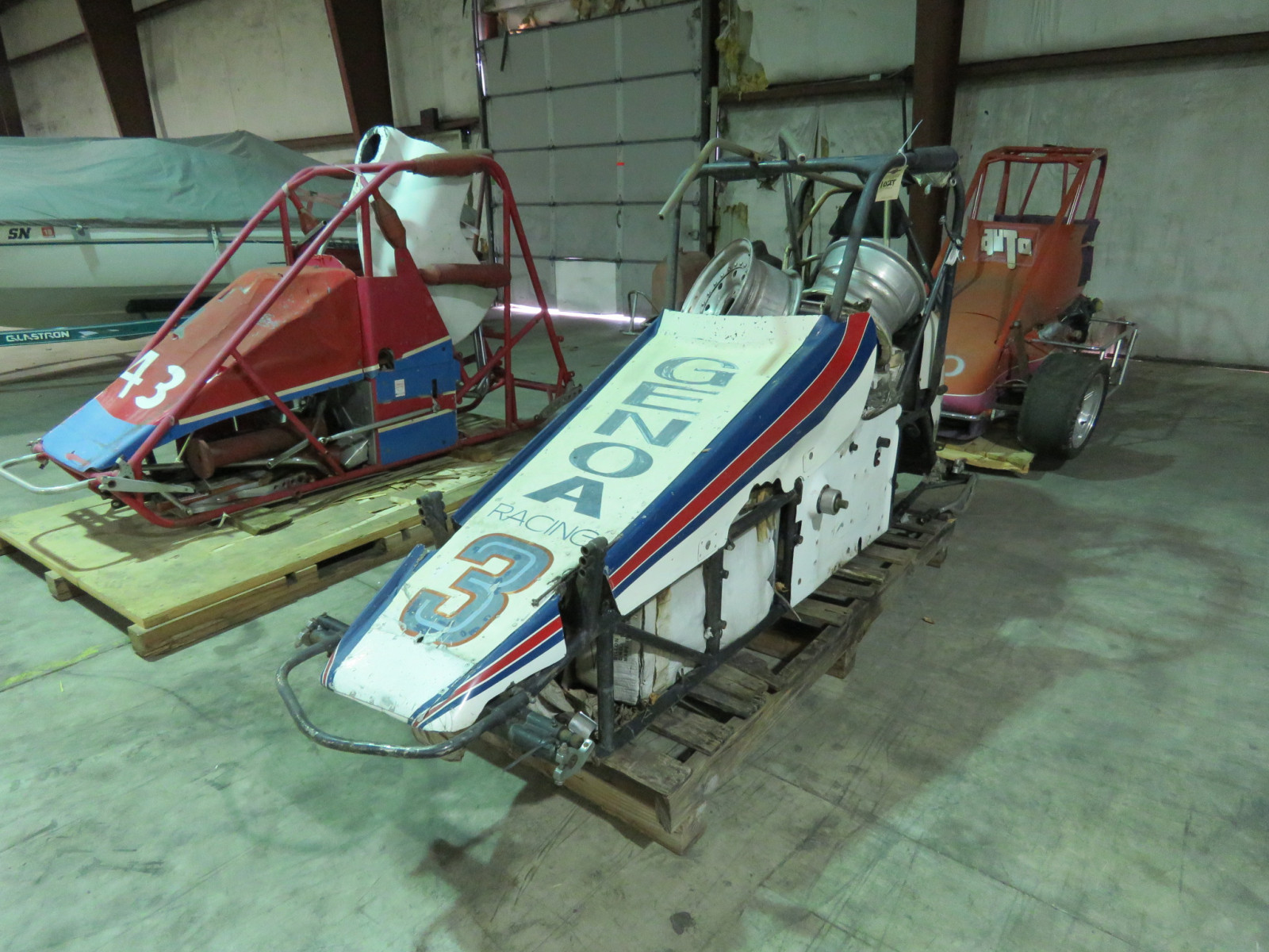 Vintage Edmunds Midget Race Car - Image 1