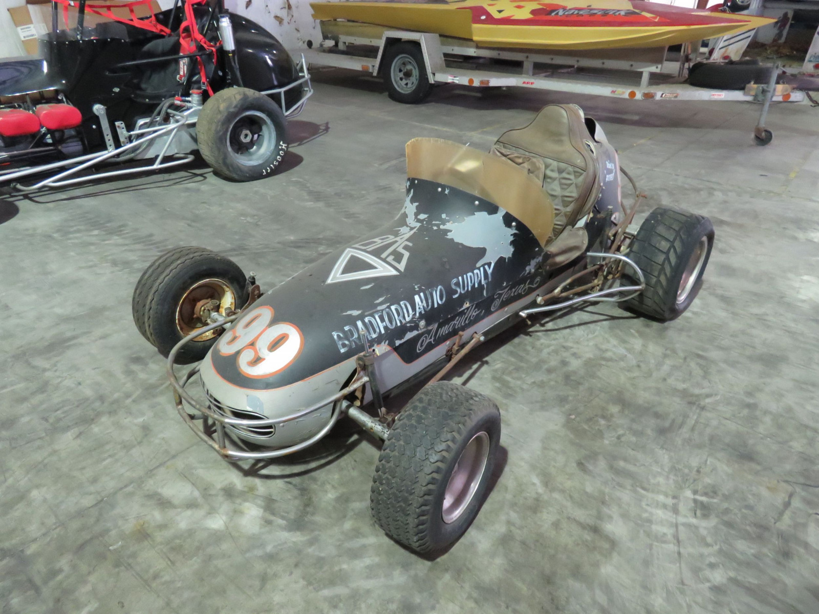 Vintage  1/2 scale Midget Sprint Race Car - Image 1