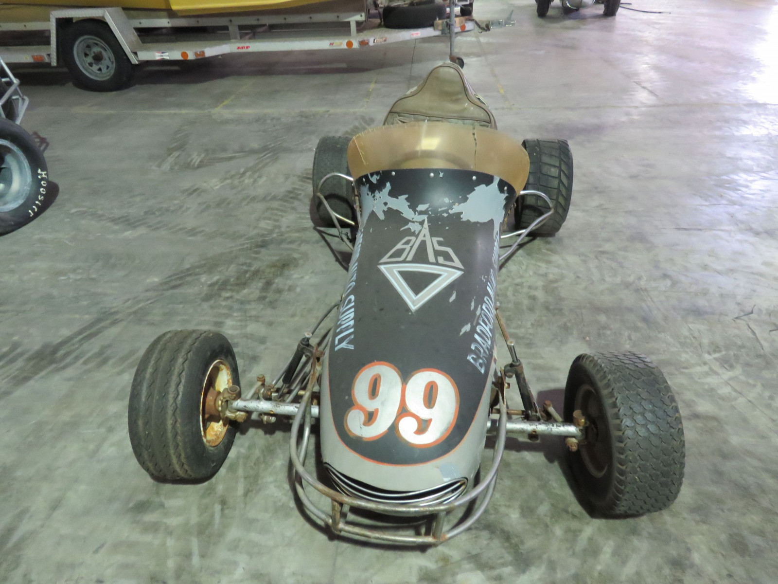 Vintage  1/2 scale Midget Sprint Race Car - Image 3