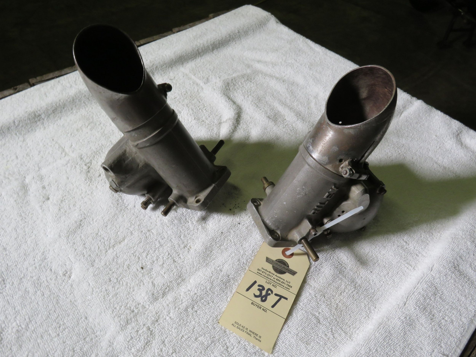 Pair of Riley Carbs - Image 1