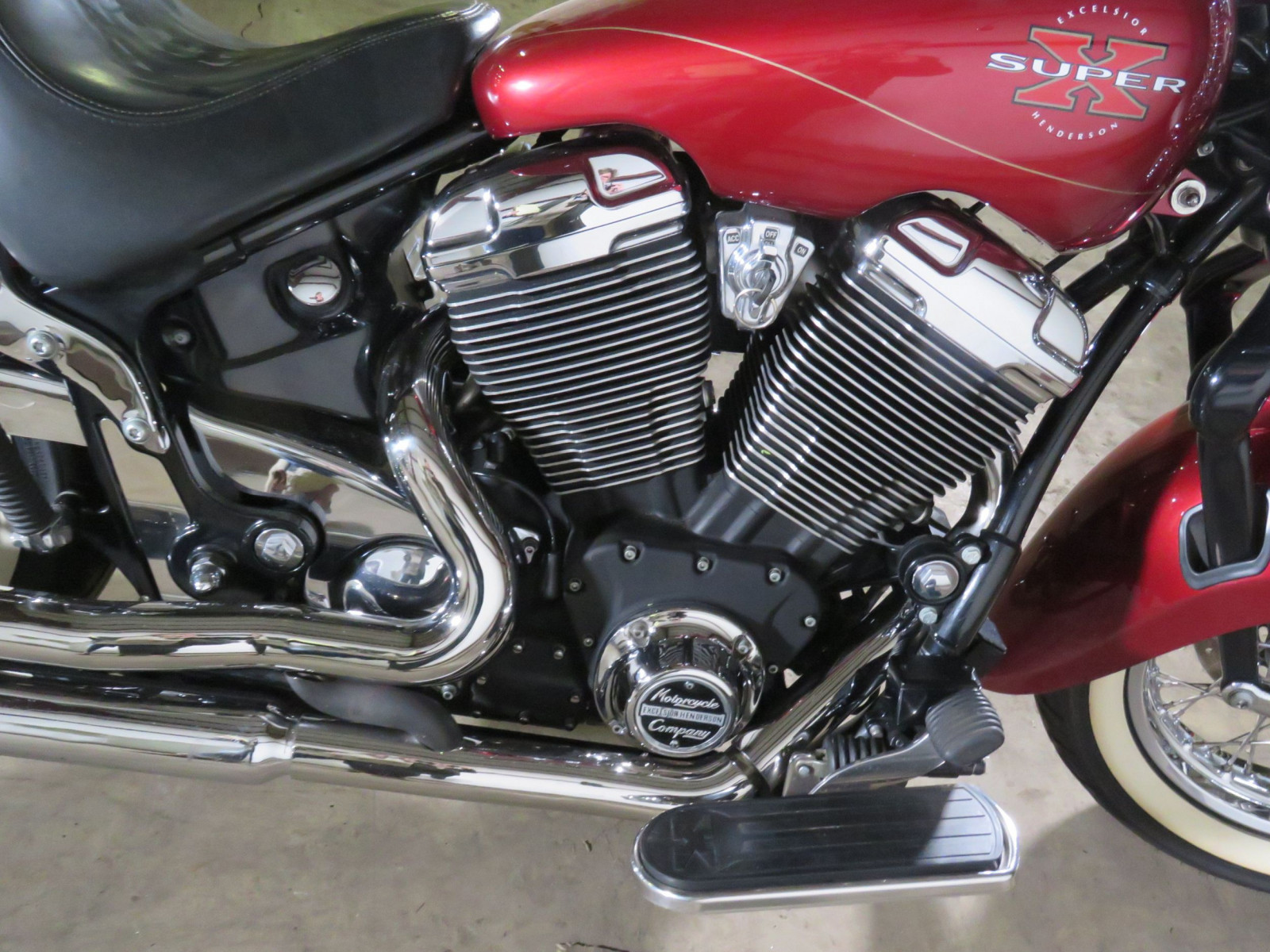 1999 Excelsior Henderson Super X Motorcycle Deadwood Edition - Image 7