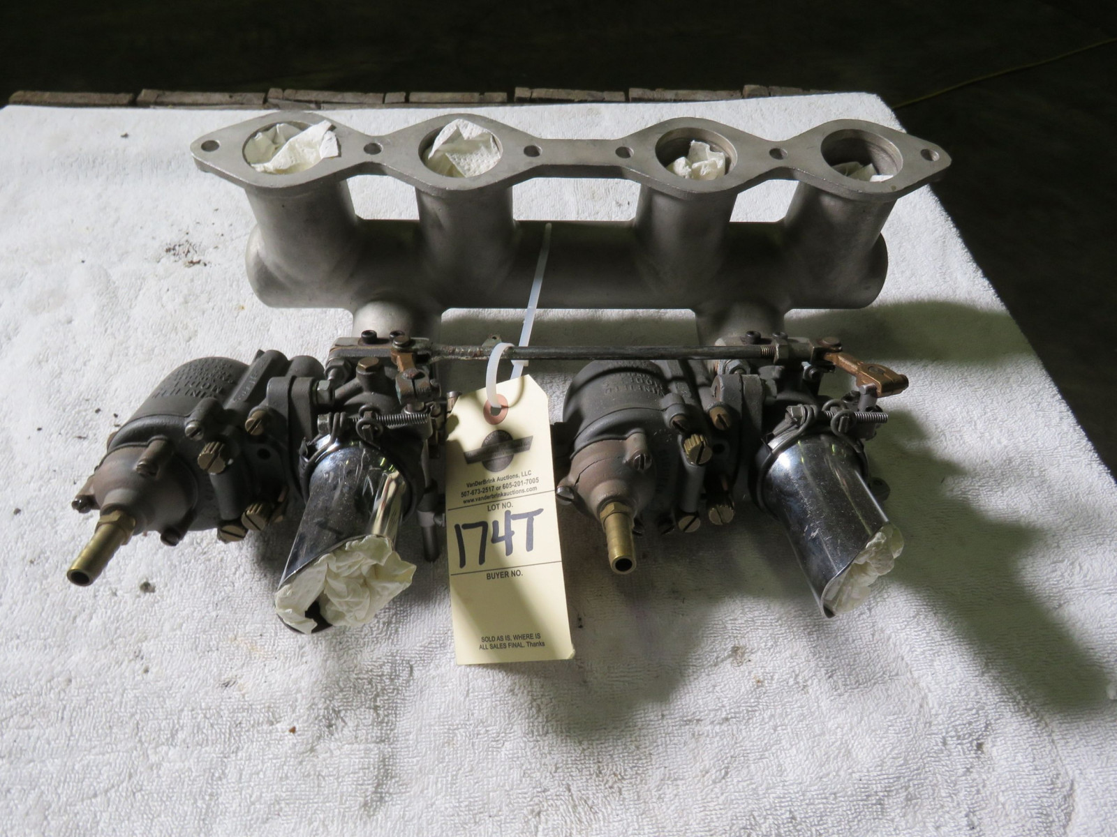 Winfield Model S Carburetors 4 cylinder Ford - Image 1