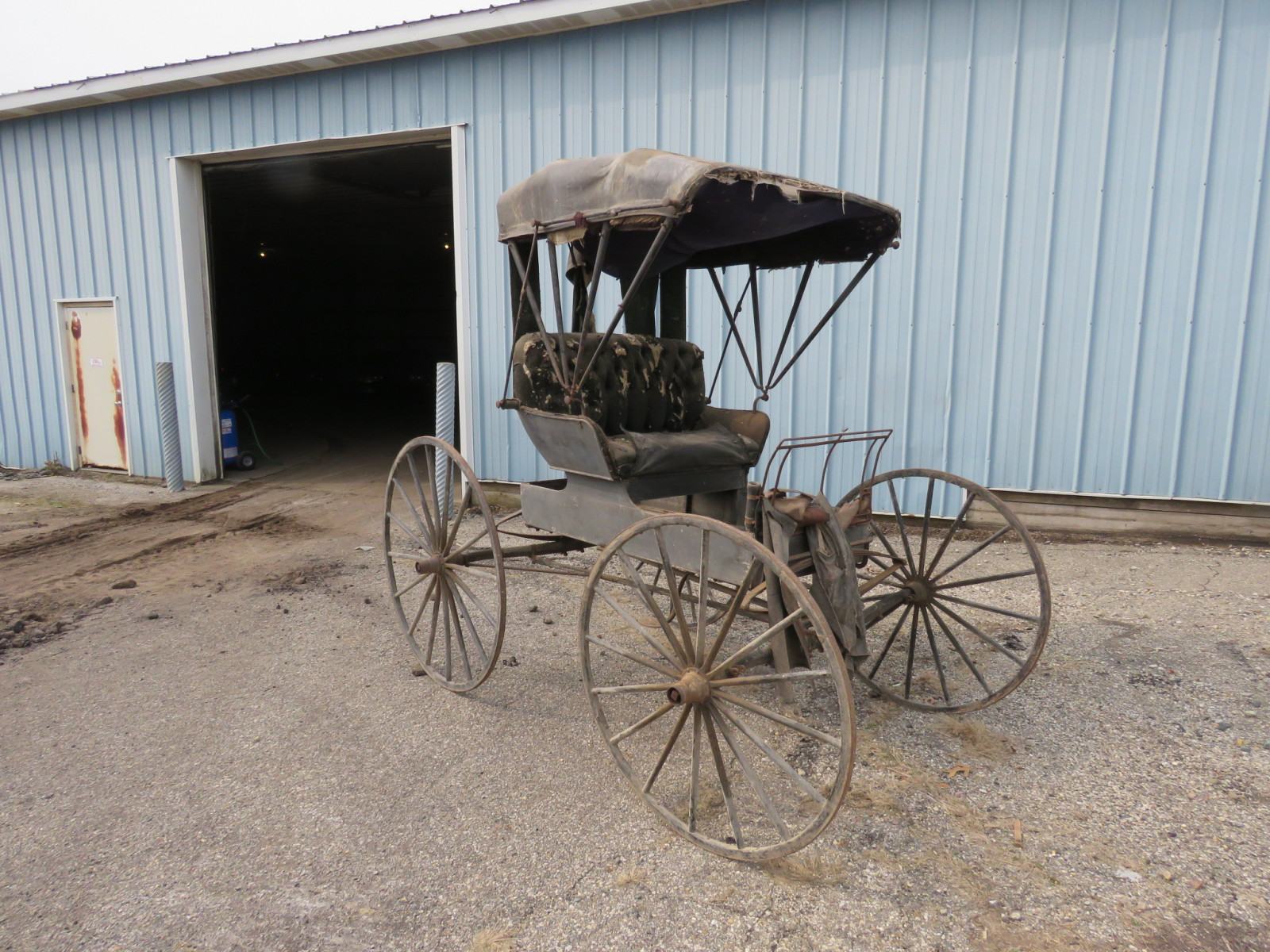 Doctor's Buggy Made in Marshall, Michigan - Image 1