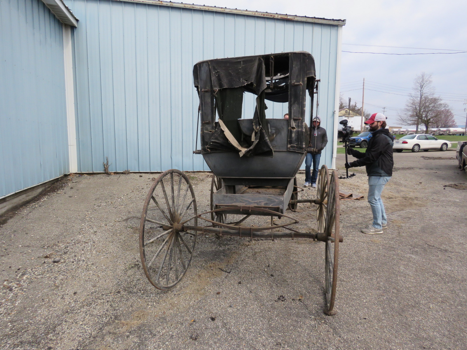 Doctor's Buggy Made in Marshall, Michigan - Image 4