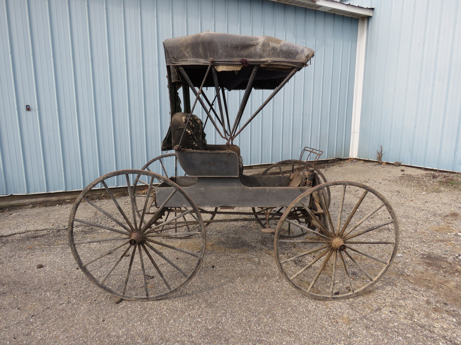 Doctor's Buggy Made in Marshall, Michigan - Image 7