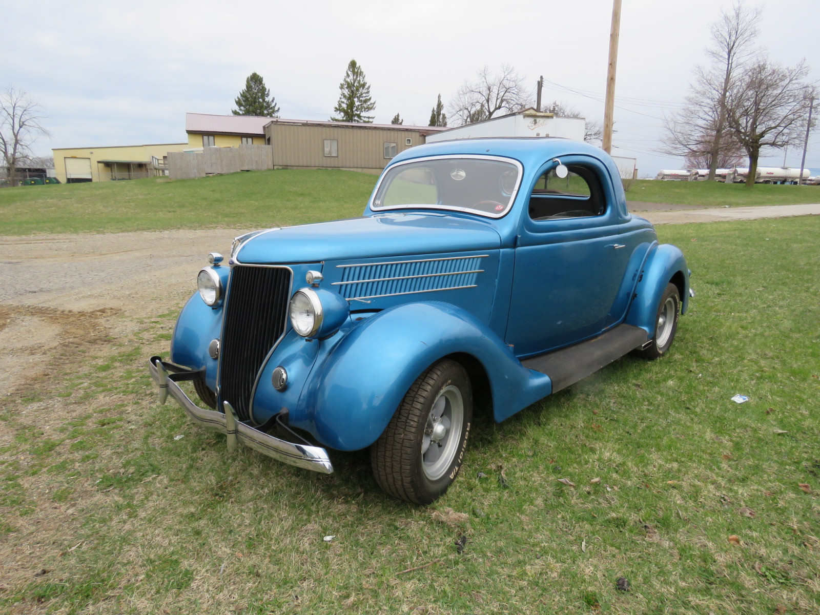 Rare 1936 Ford 3 Window Coupe - Image 3
