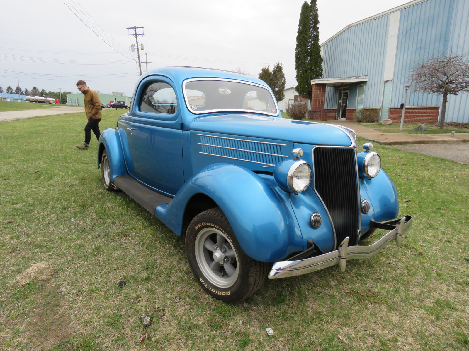 Rare 1936 Ford 3 Window Coupe - Image 9