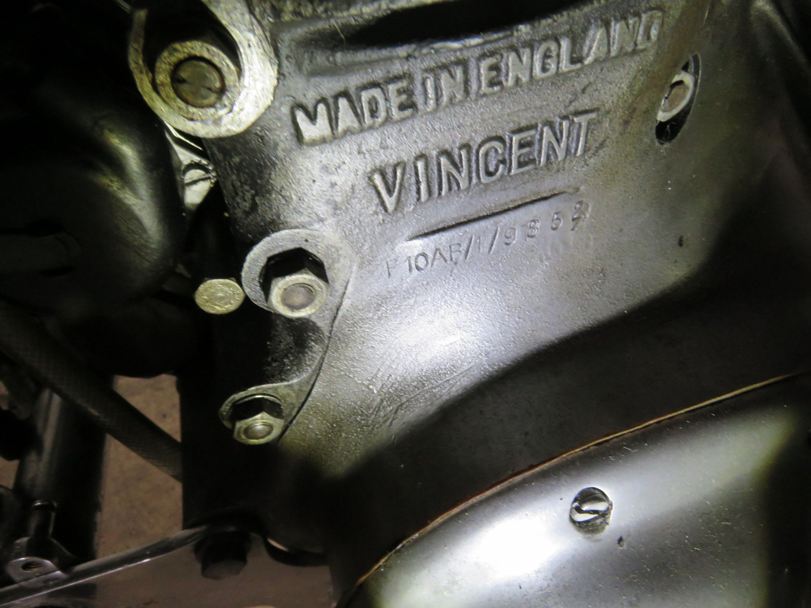 1952 Rare Vincent Motorcycle - Image 12