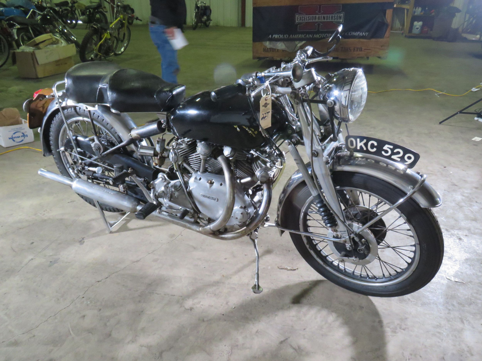 1952 Rare Vincent Motorcycle - Image 2