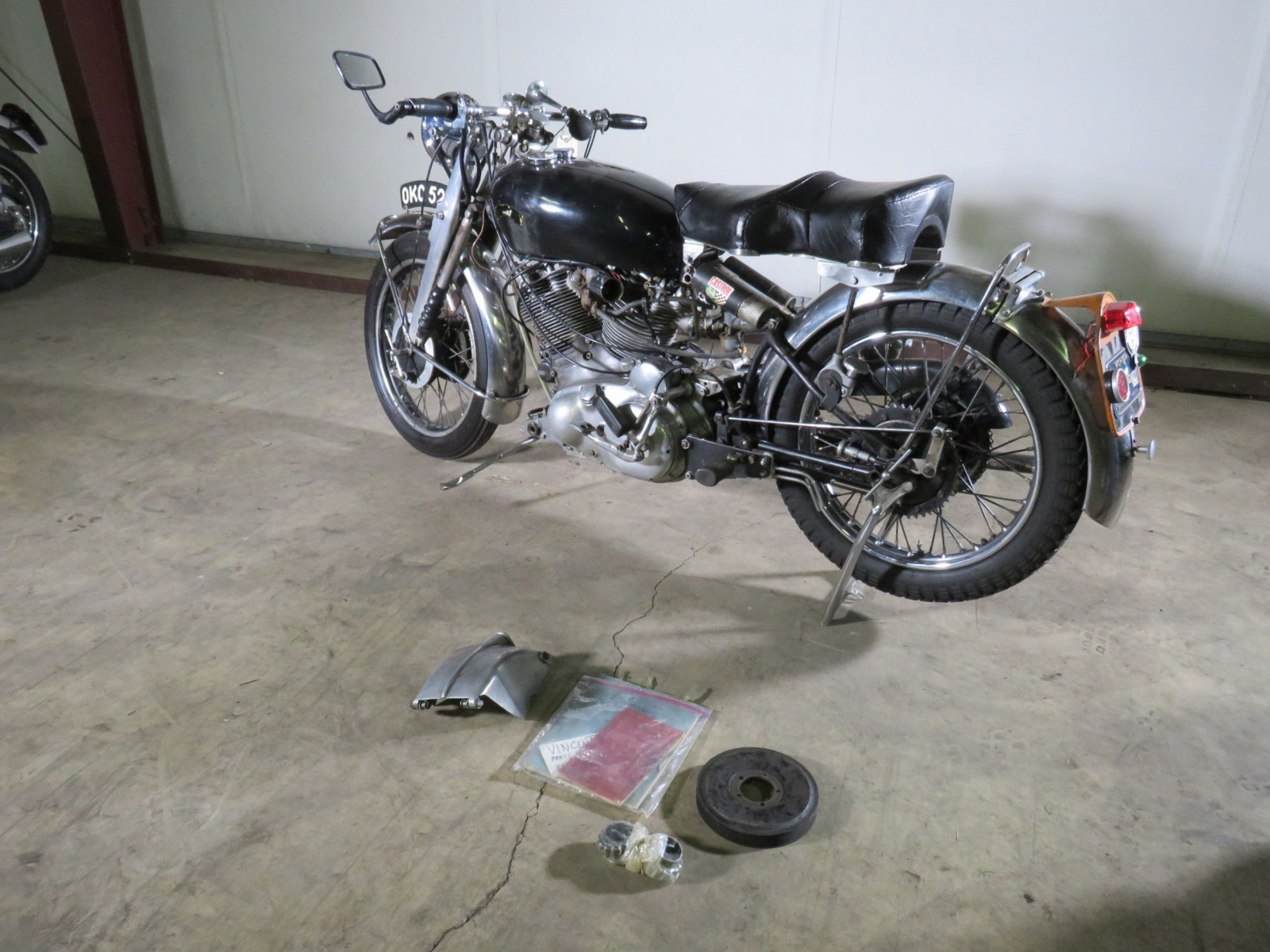 1952 Rare Vincent Motorcycle - Image 20