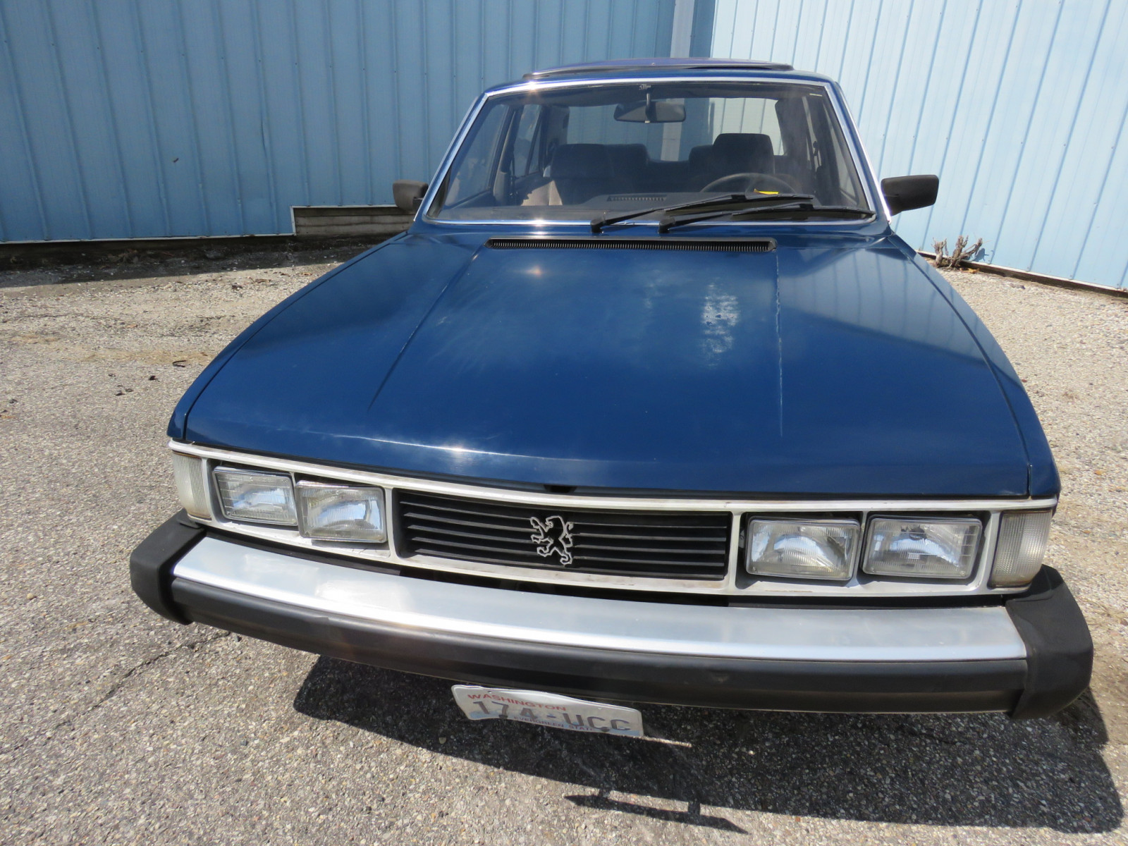 1982 Peugeot 604 Turbo Diesel 4dr Sedan - Image 3