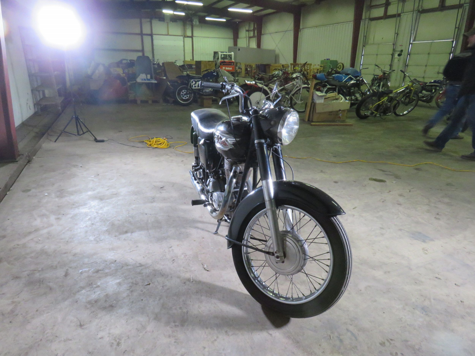 1950 Matchless G80 Motorcycle - Image 2