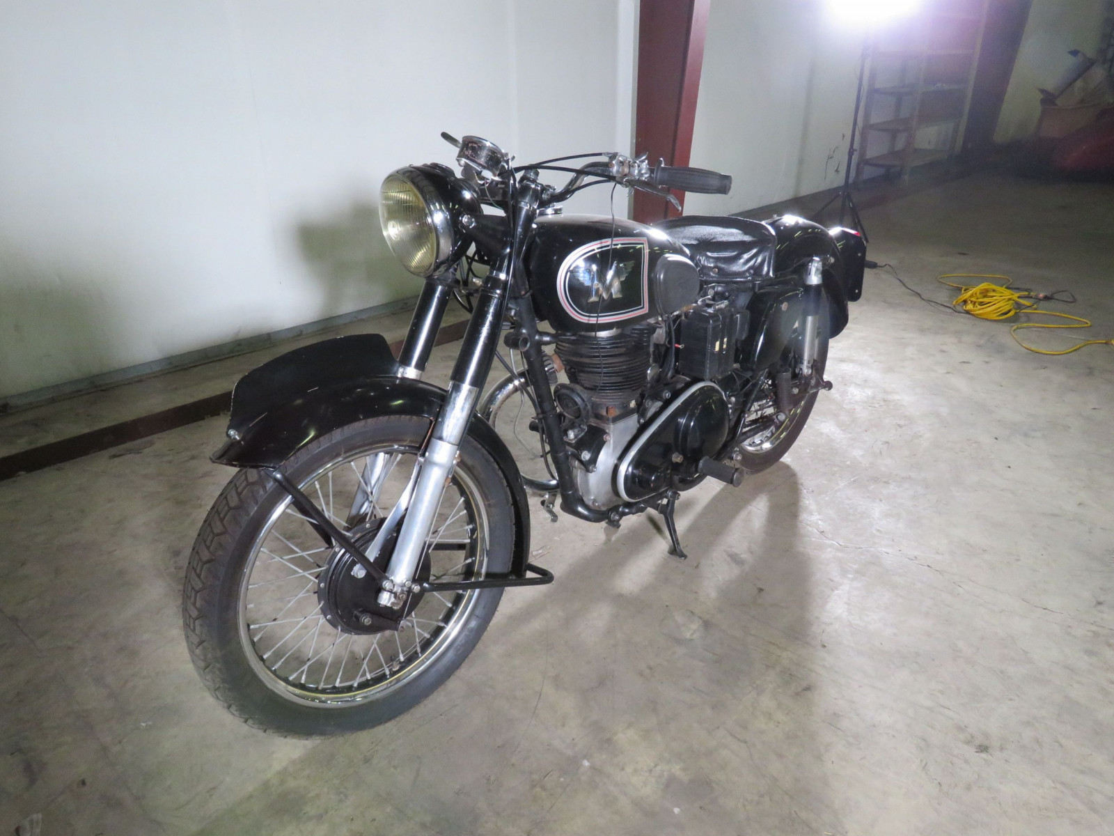 1950 Matchless G80 Motorcycle - Image 4
