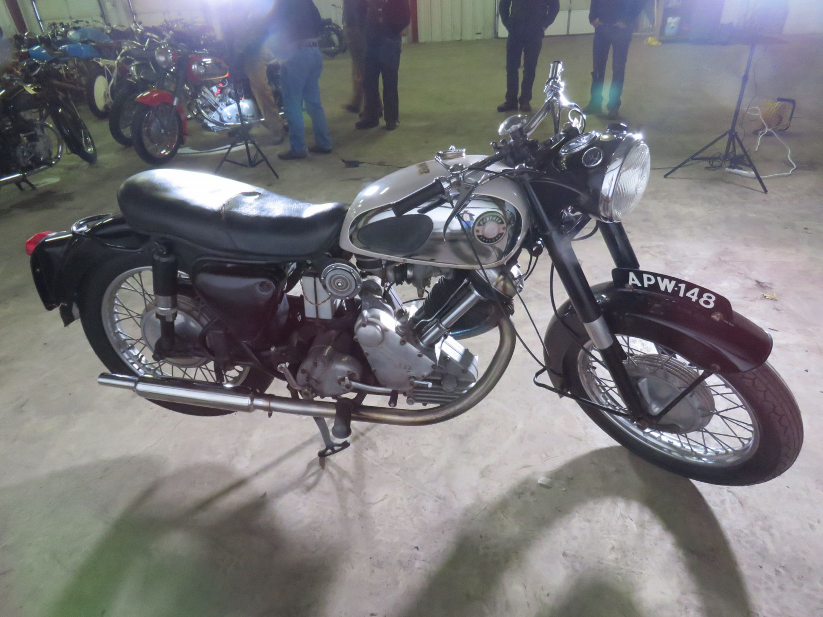1960 Panther Model 120 Motorcycle - Image 3
