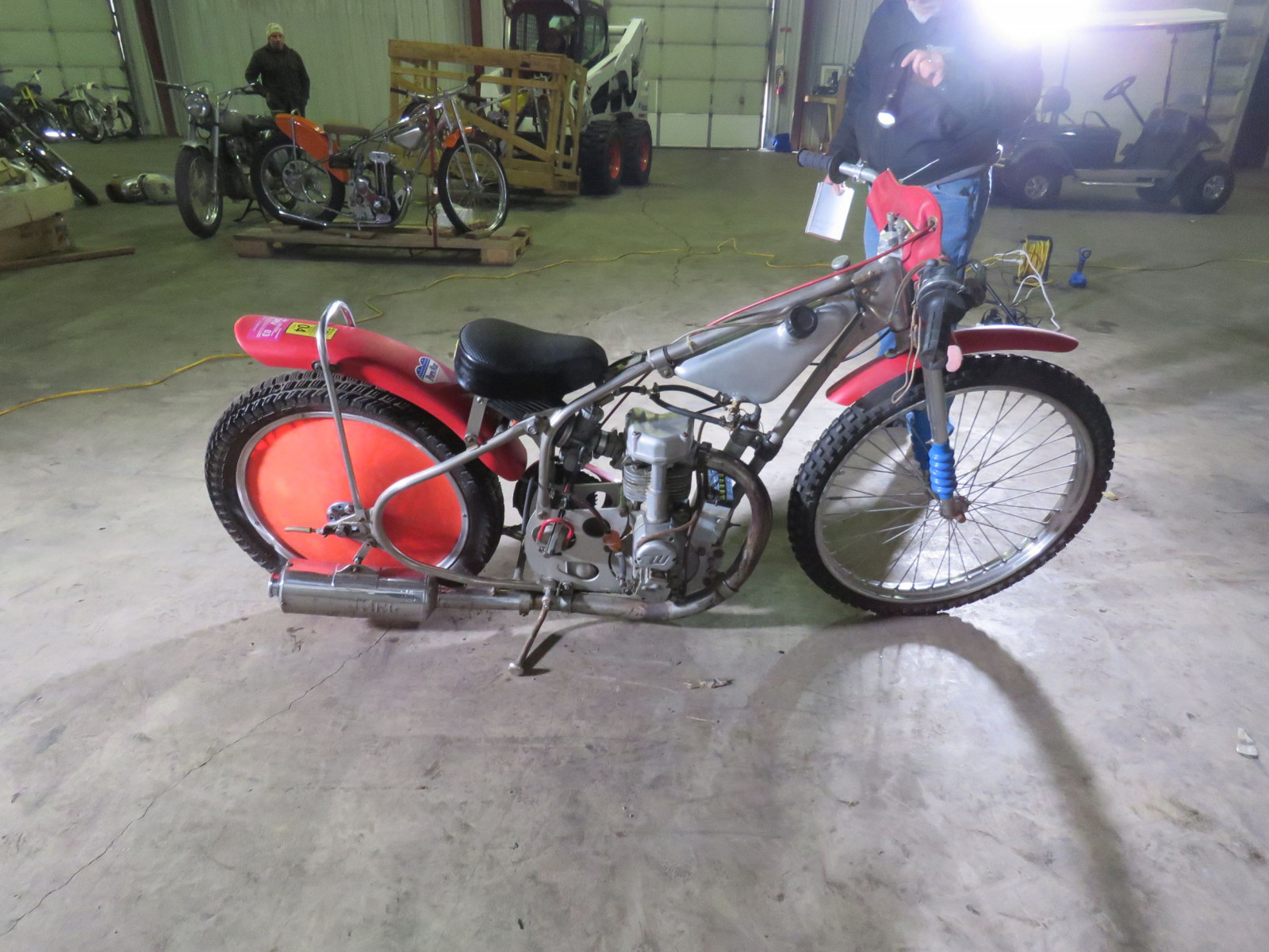 Speedway Racer Motorcycle - Image 9