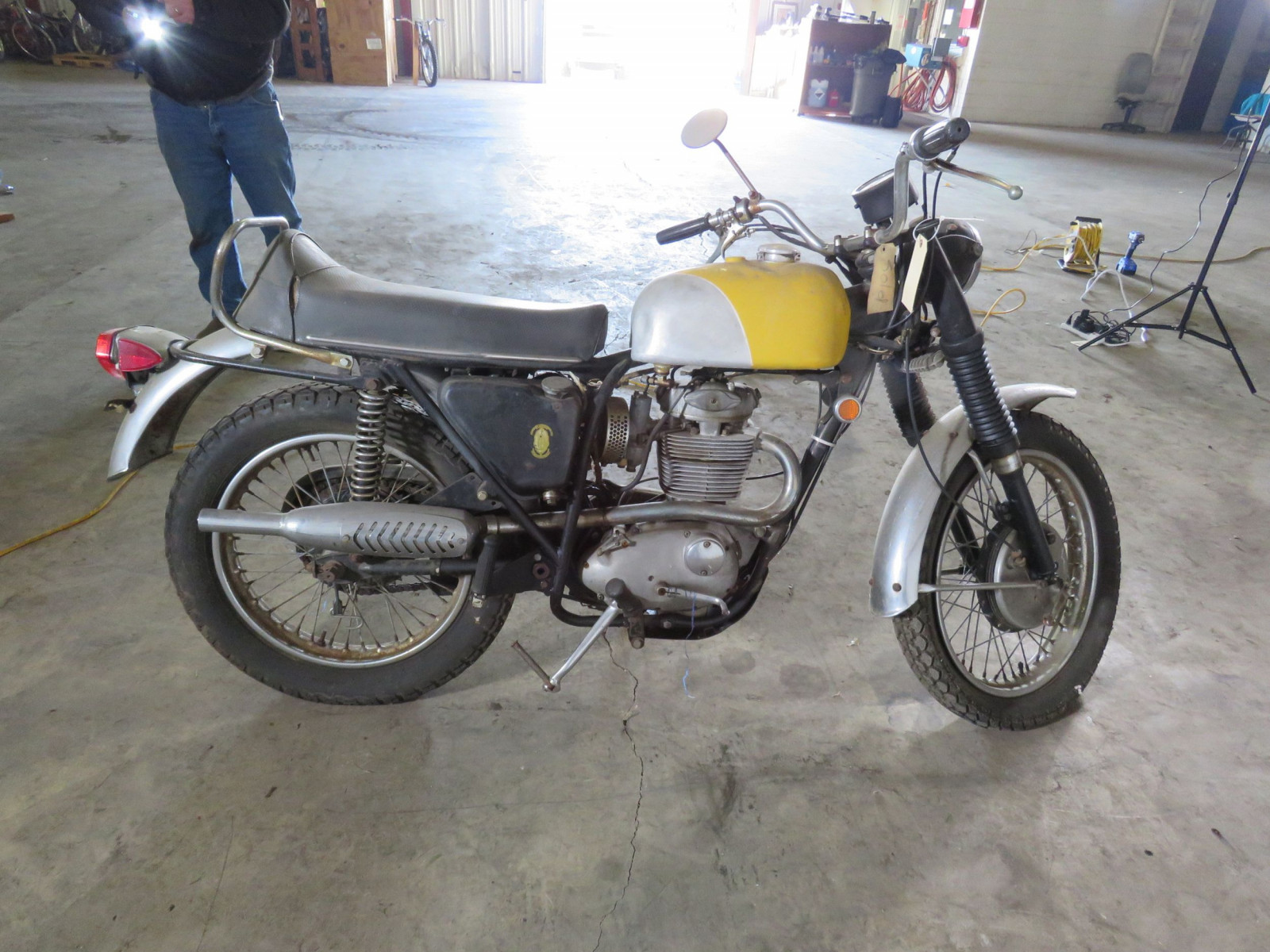 1968 BSA B44 Victor Special Motorcycle - Image 5