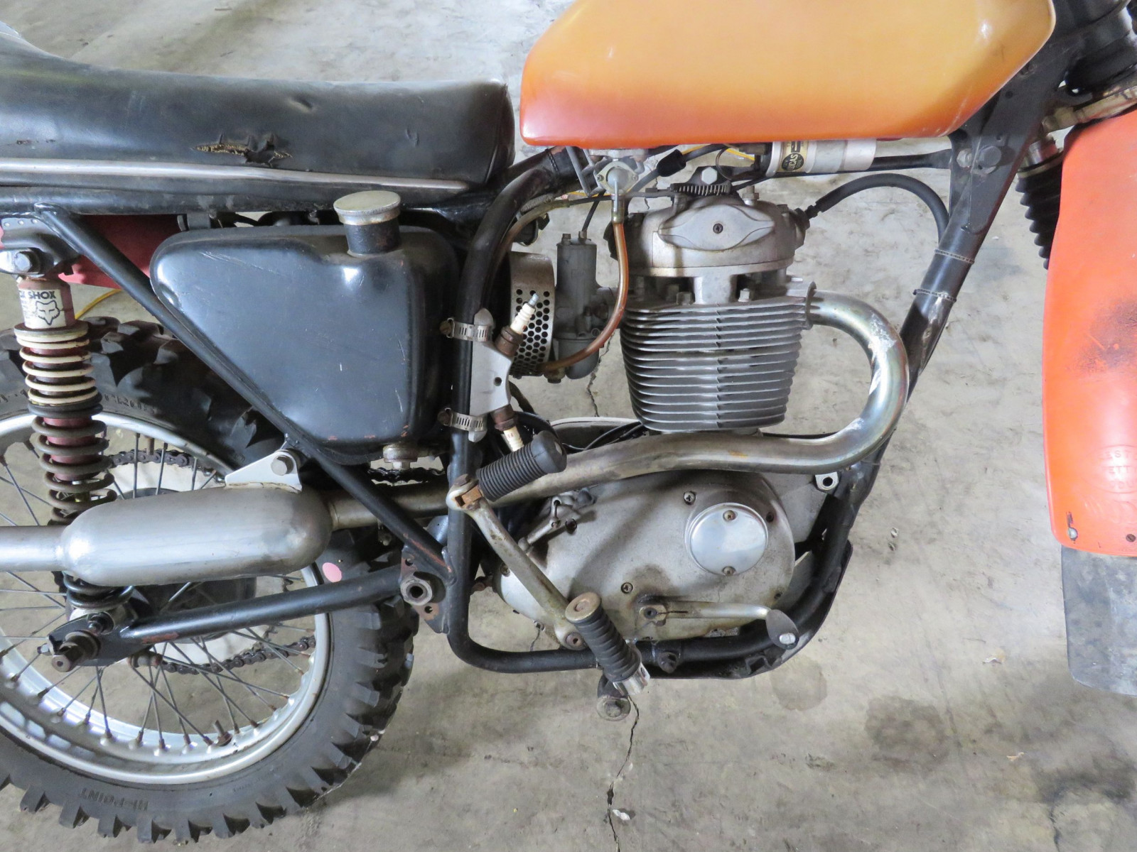 1968 BSA B44 Victor Special Motorcycle - Image 4