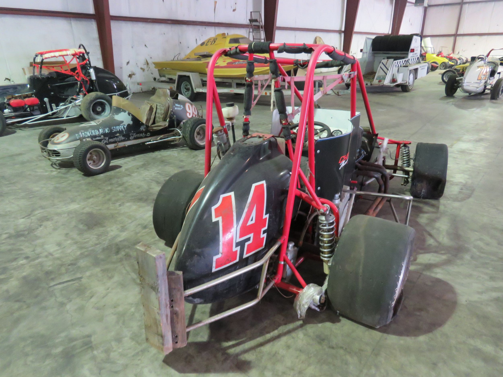 The Beast Vintage Midget Race Car - Image 4