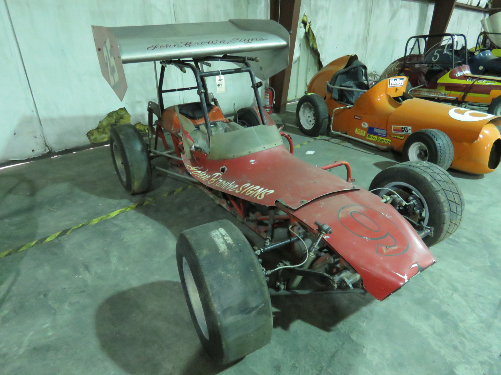 Vintage Edmunds Type Roadster Midget Race Car - Image 2