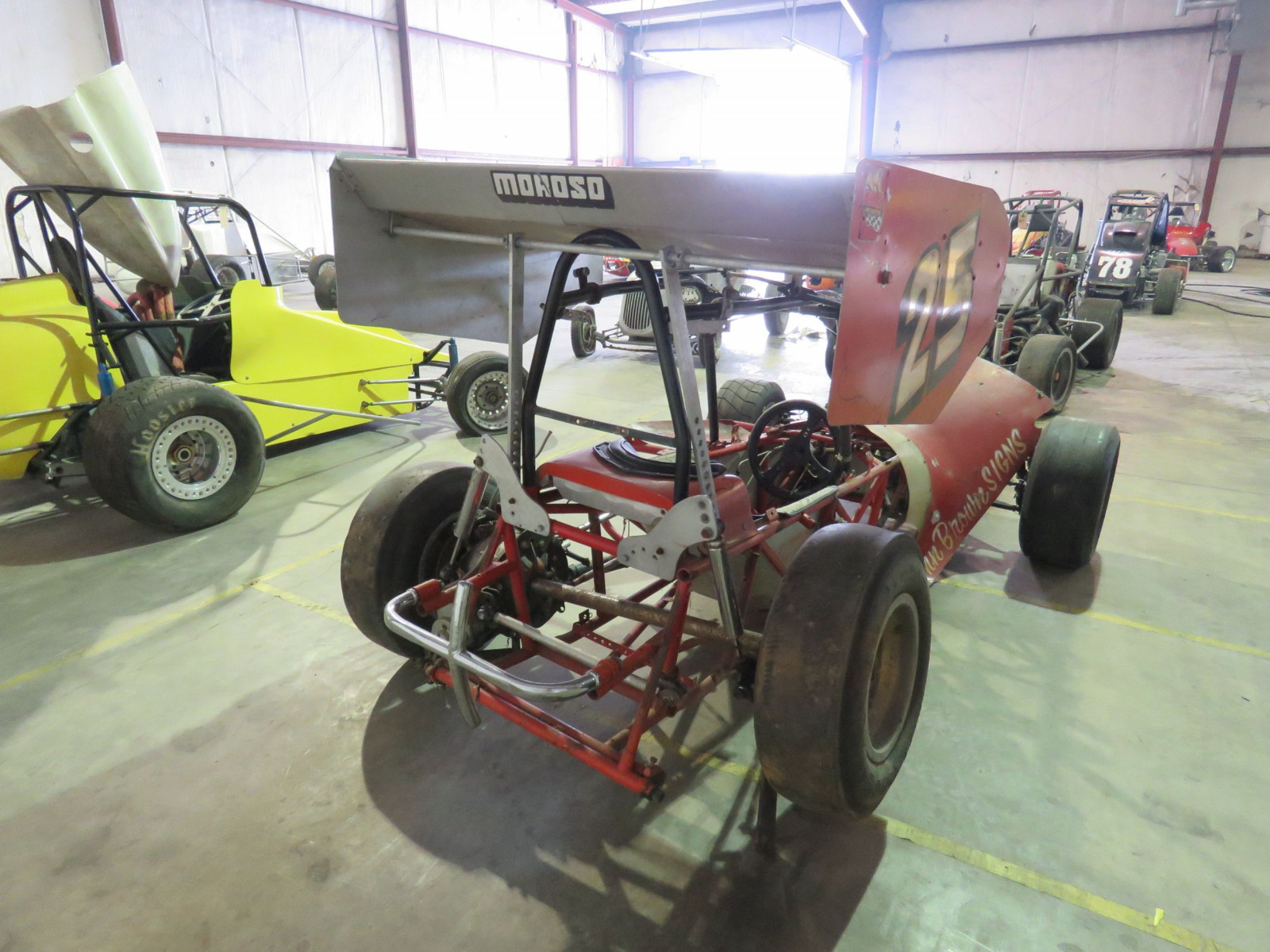 Vintage Edmunds Type Roadster Midget Race Car - Image 4