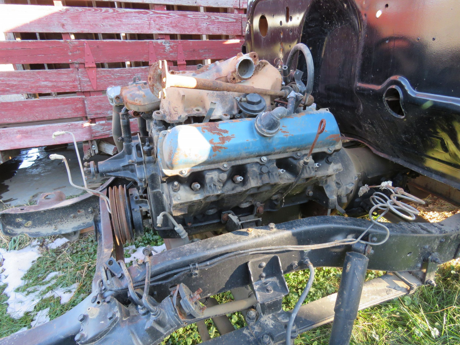 1949 Chevrolet 5 Window Cab Pickup Project - Image 3