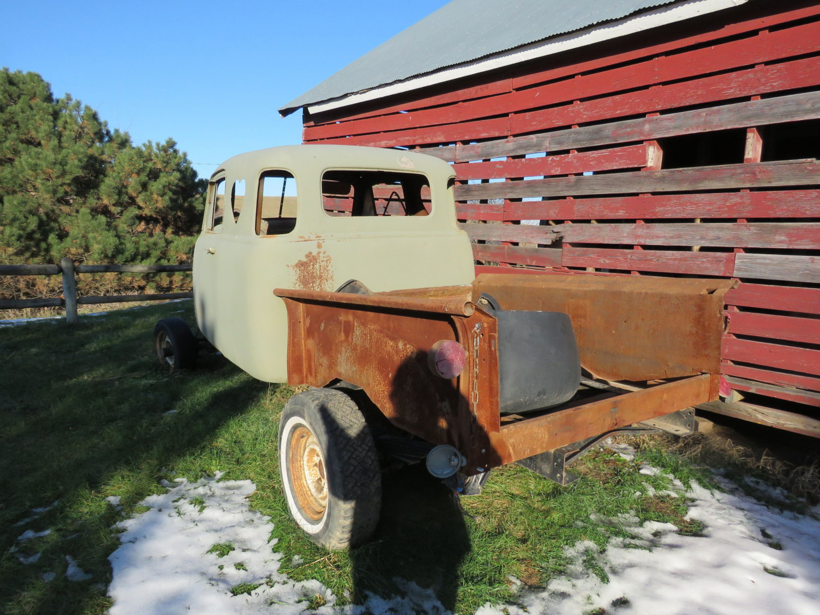 1949 Chevrolet 5 Window Cab Pickup Project - Image 4