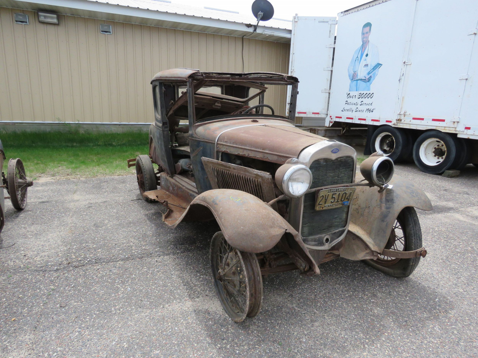 1930 Ford Model A coupe for Rod or Restore - Image 1
