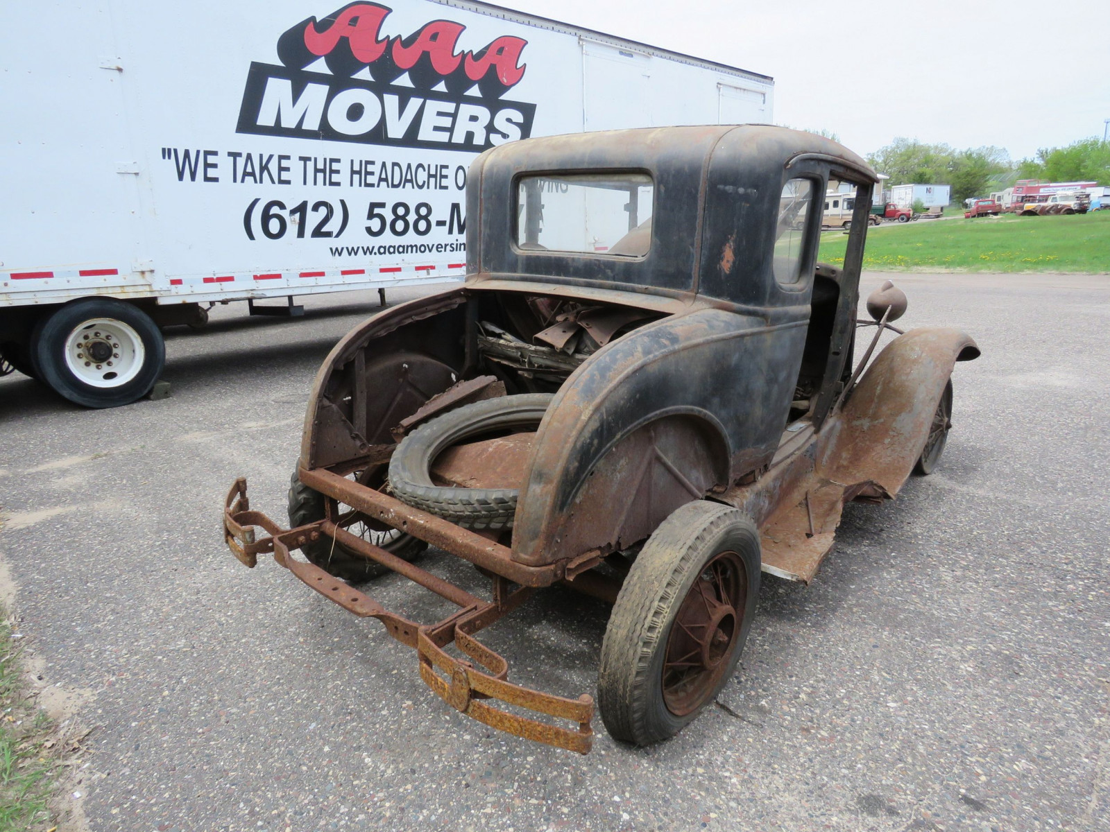 1930 Ford Model A coupe for Rod or Restore - Image 7