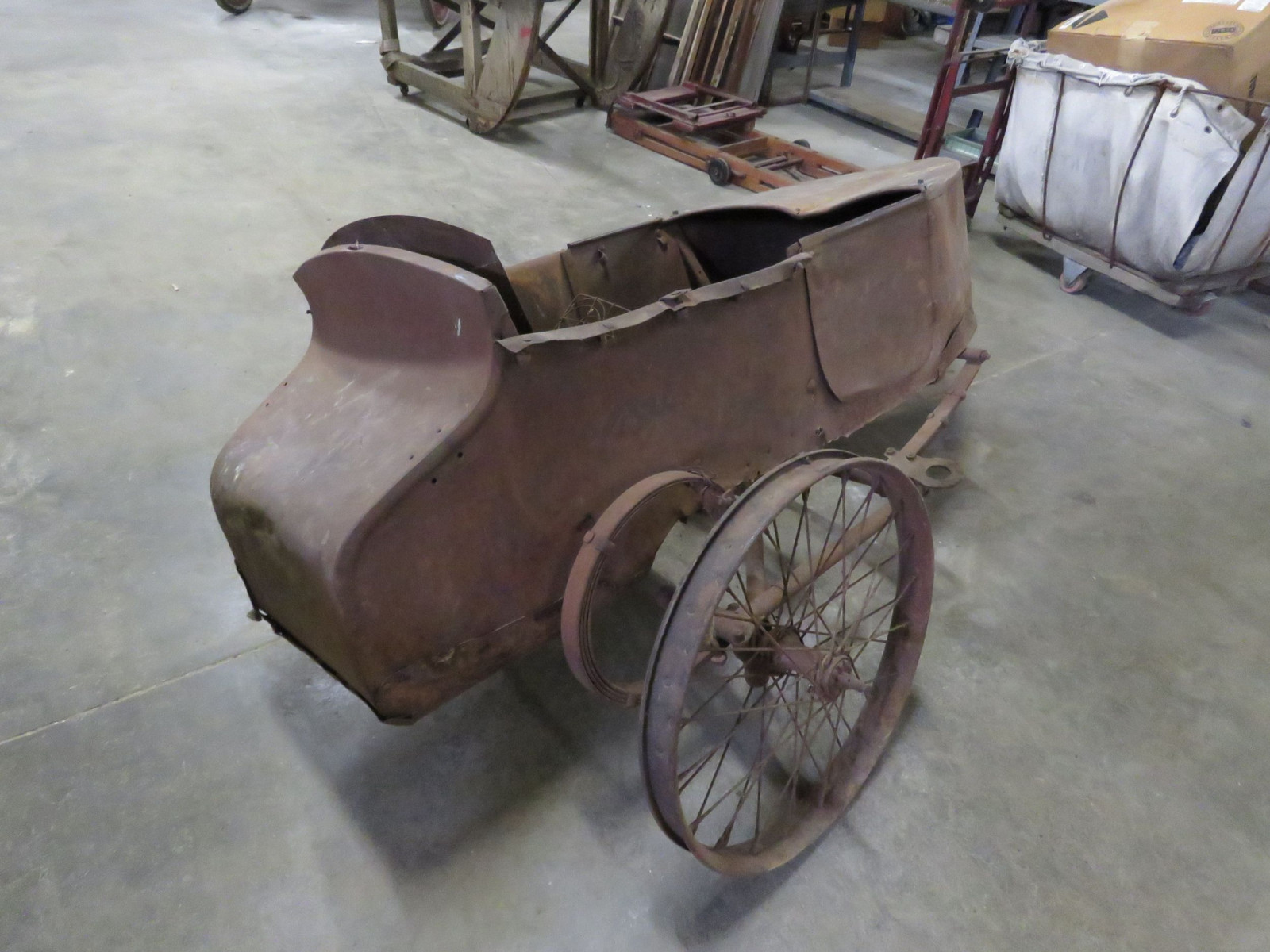 RARE Harley Davidson Motorcycle Side Car - Image 3