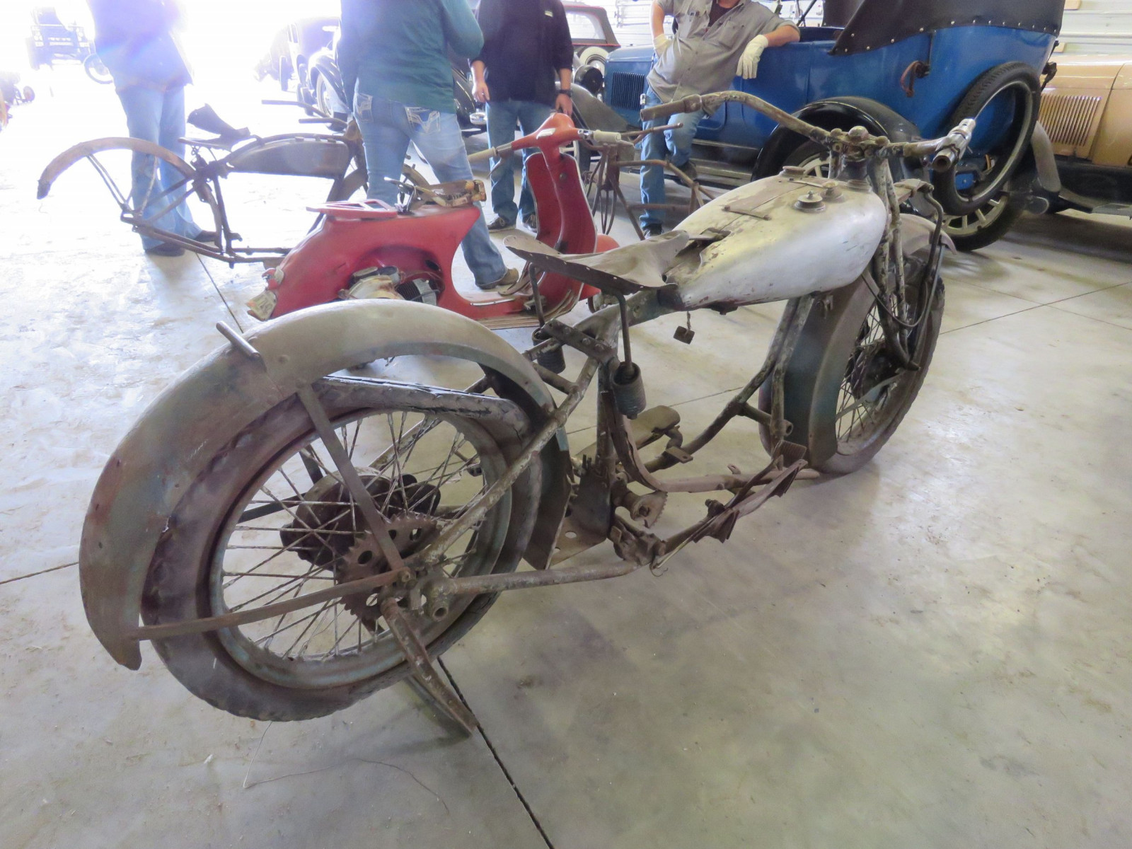 RARE 1929 Indian V-Twin Motorcycle - Image 15