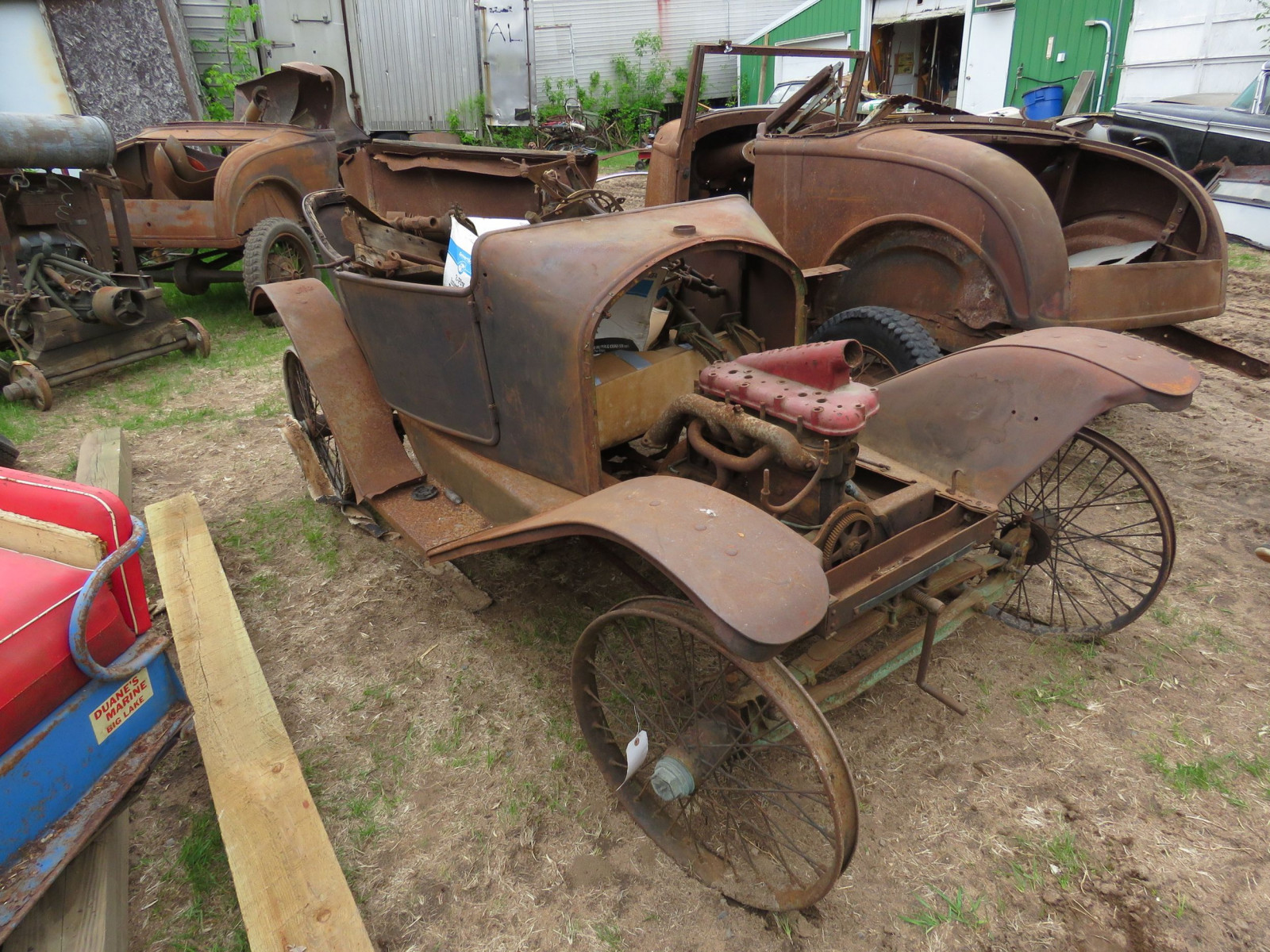 Rare 1914-15 Trumbull Cyclecar Project - Image 1