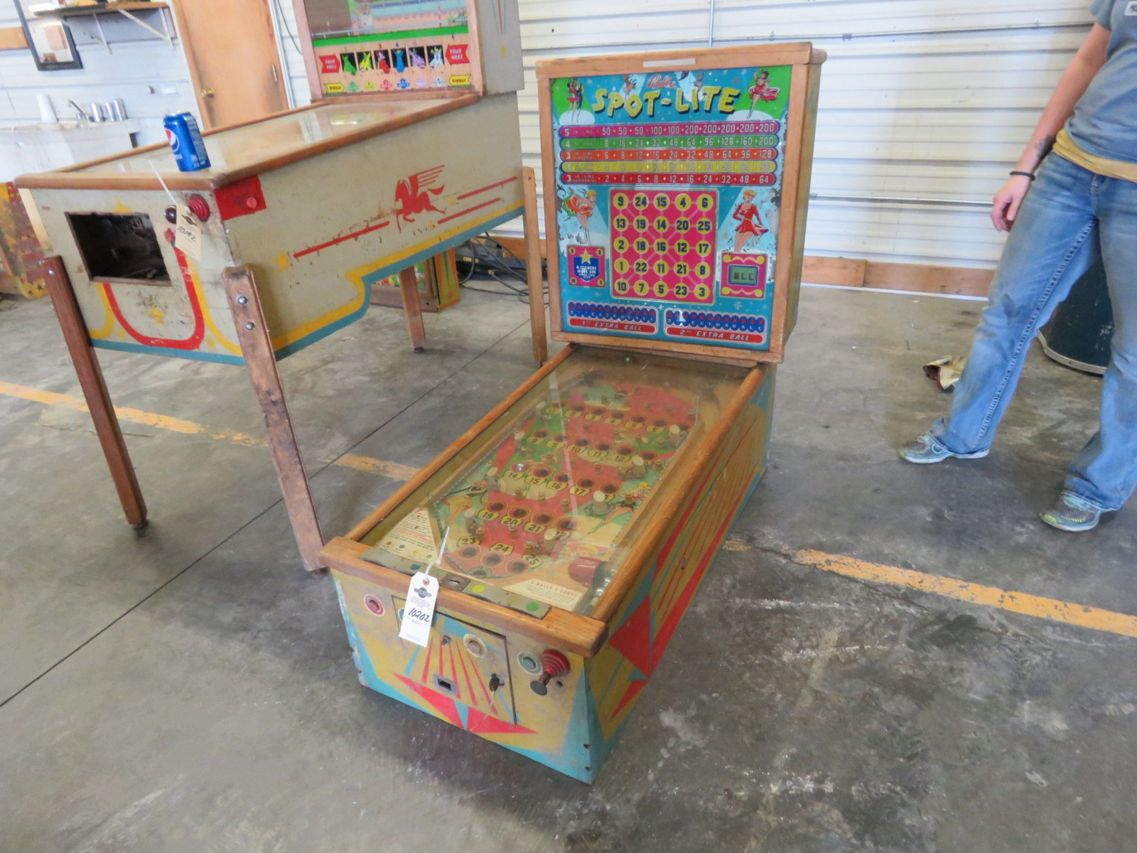 Spot-Lite Vintage Arcade-Pinball Machine by Bally - Image 2