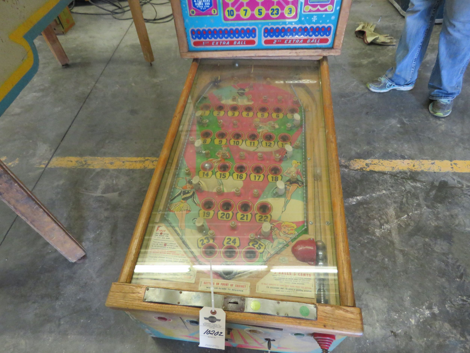 Spot-Lite Vintage Arcade-Pinball Machine by Bally - Image 3