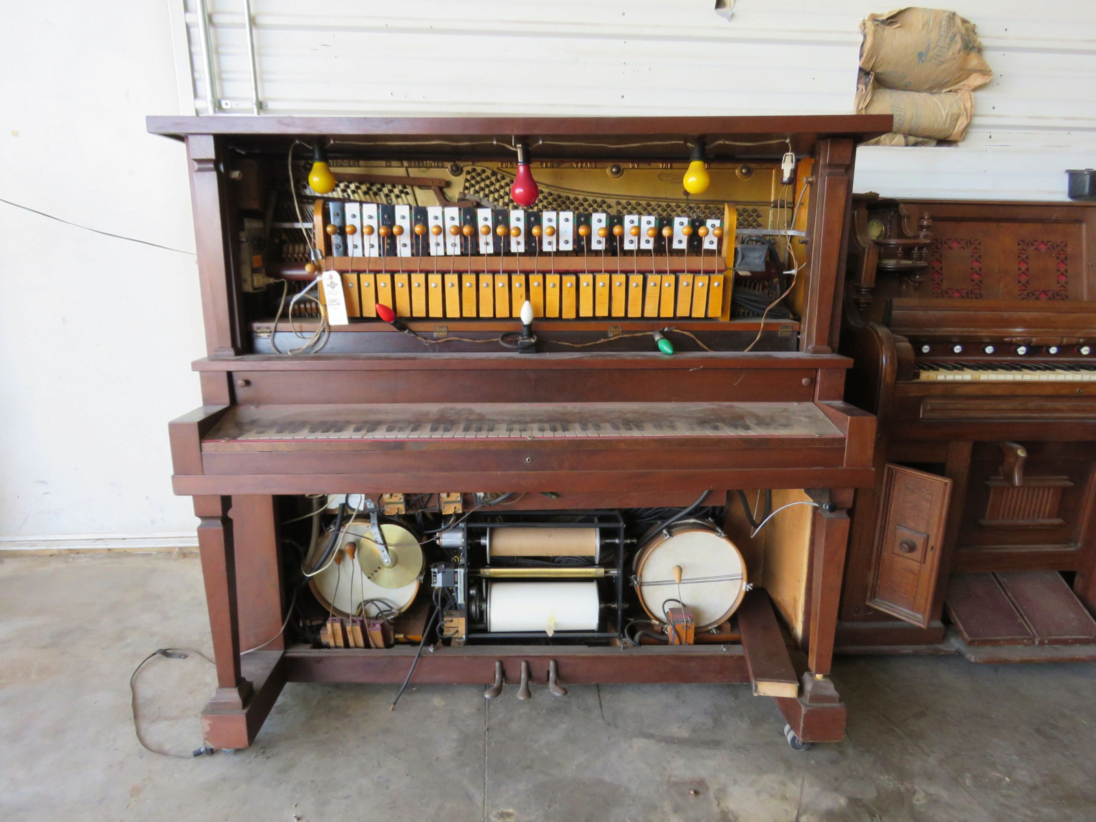 H-C Bay Company Player Piano for project or parts - Image 1