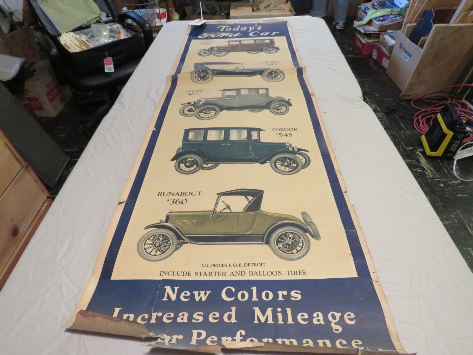 Ford Model T Car Advertising Poster - Image 2