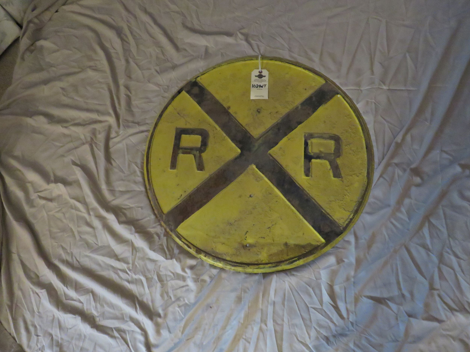 Railroad Crossing Sign - Image 1