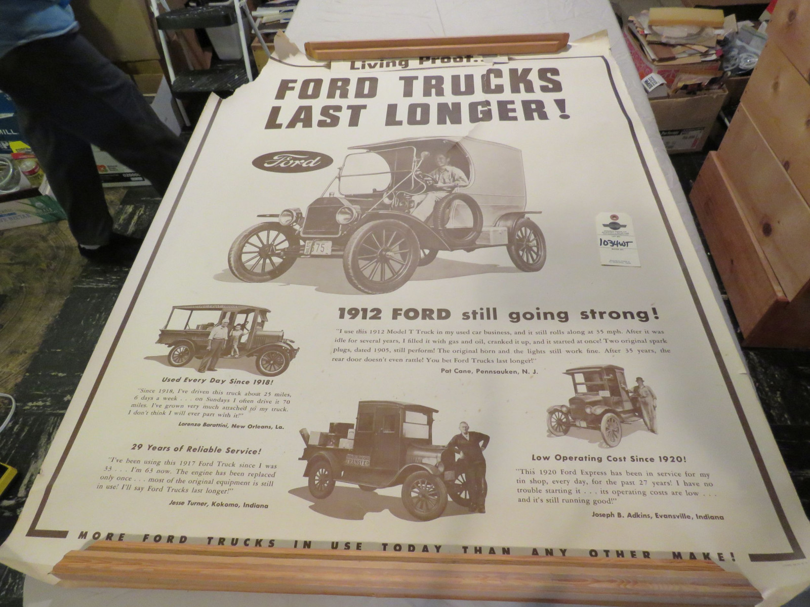 Ford Advertising Poster - Image 1