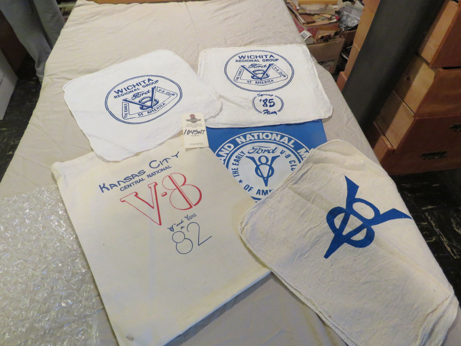 Group of V8 Shop Rags - Image 1