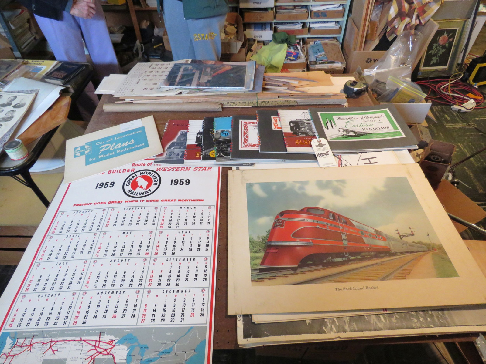 Group of Train Books - Image 1
