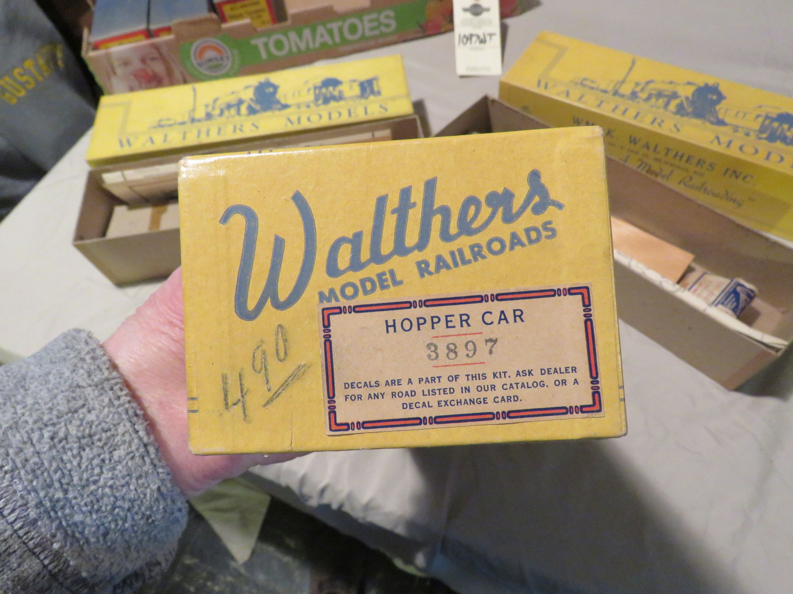 Walther and 2 Corgi Diecast Train Models - Image 8