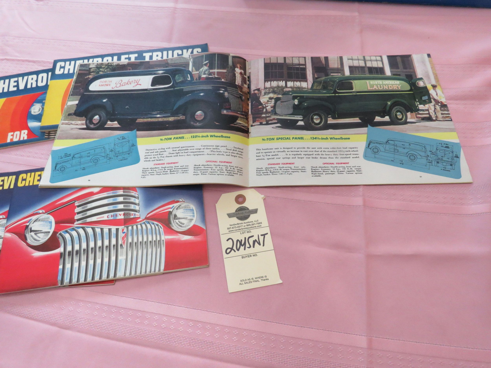 Chevrolet Truck Literature Group - Image 2