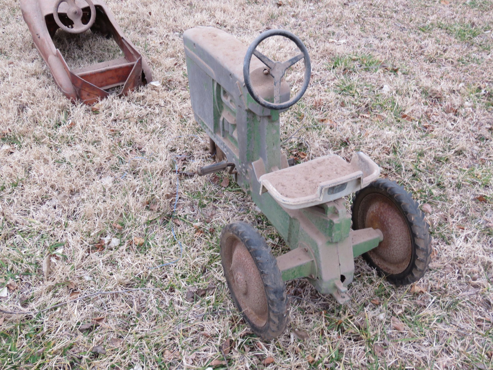 John Deere Model A Pedal Tractor - Image 3