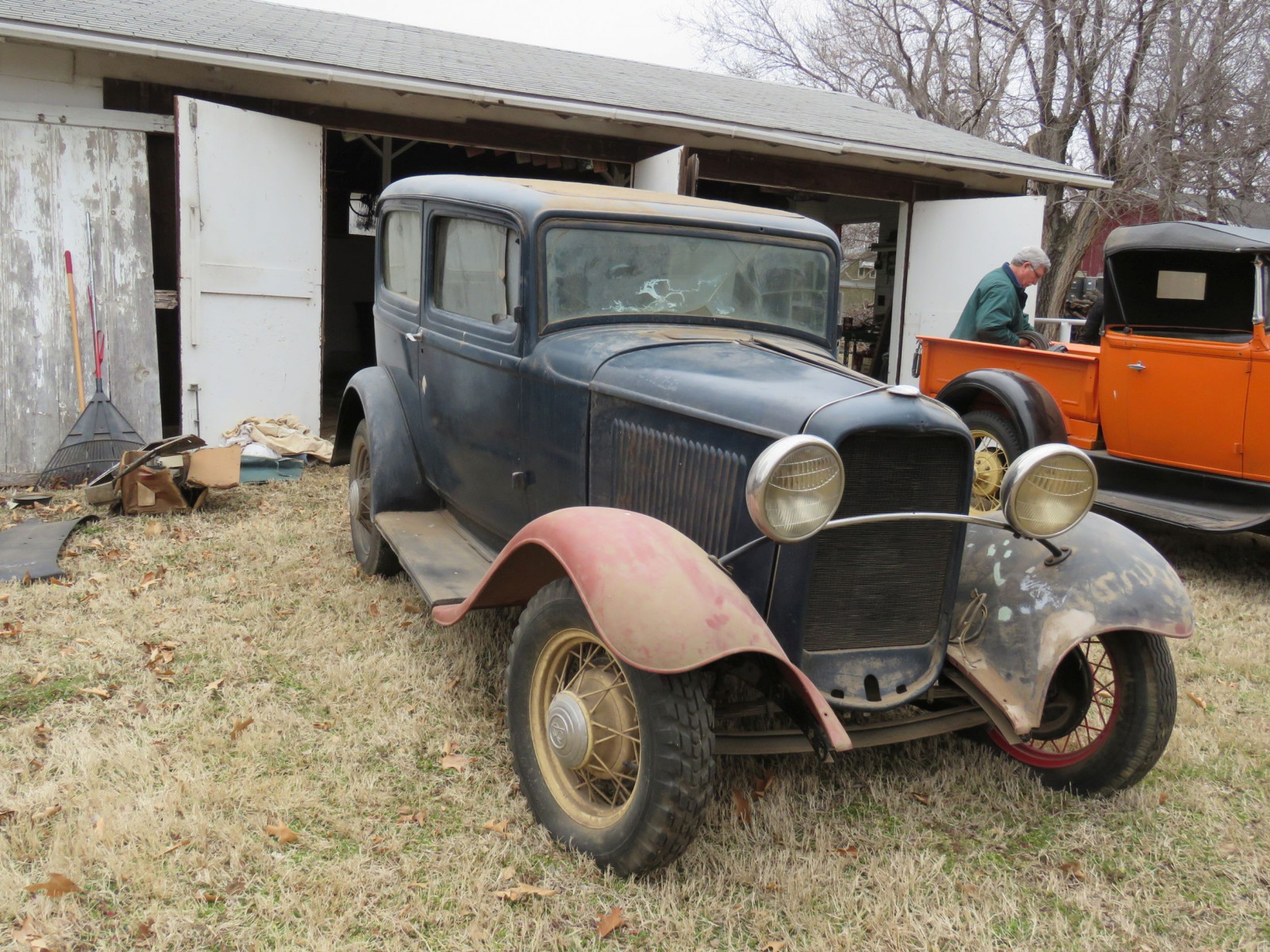 1932 Ford Tudor Sedan Barn Find - Image 1