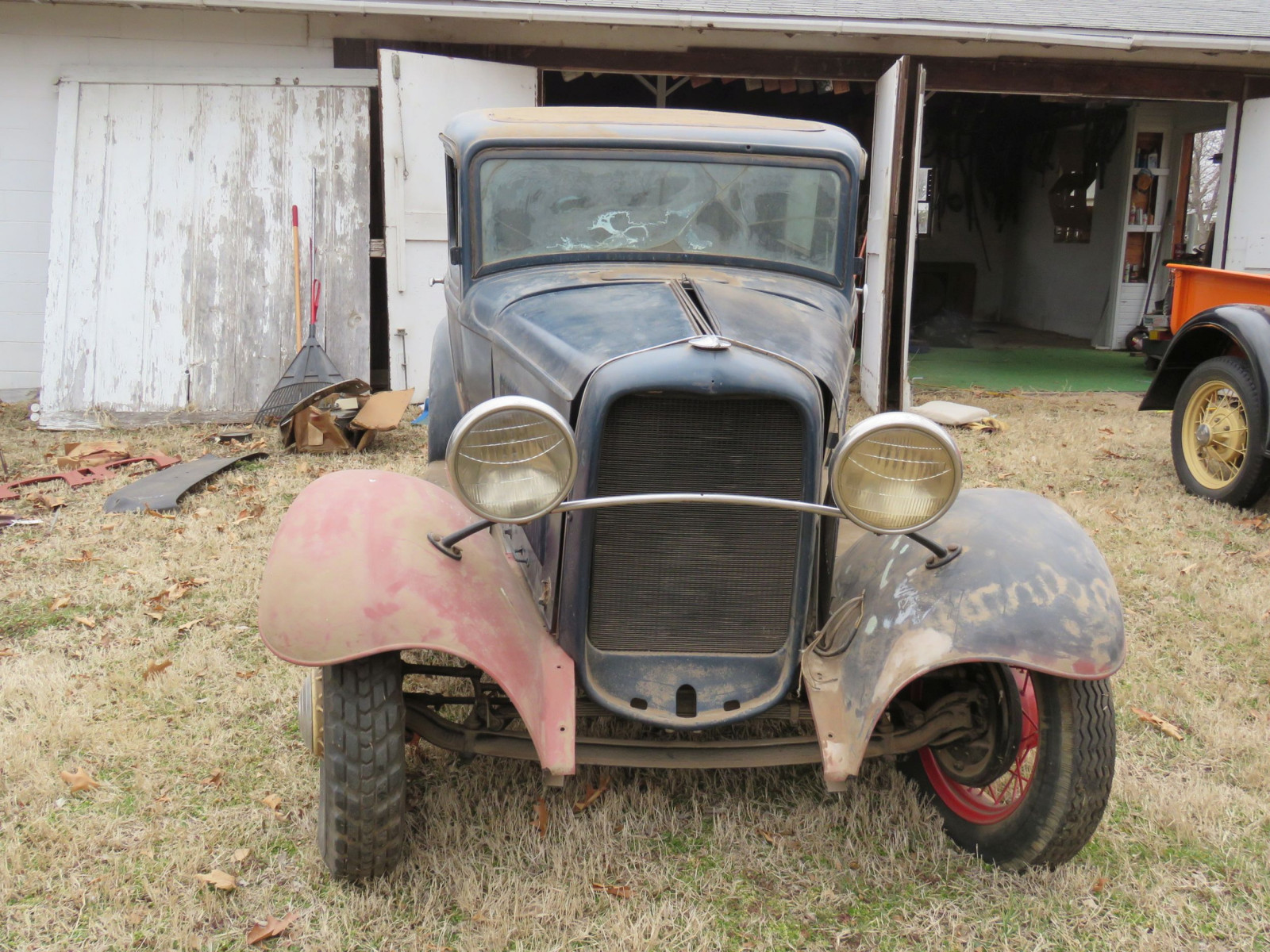 1932 Ford Tudor Sedan Barn Find - Image 2