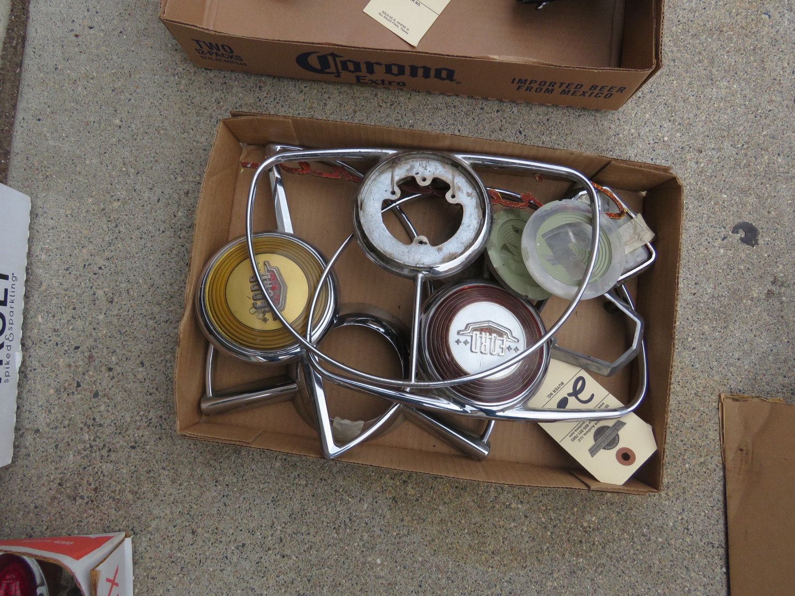 1950 Ford Horn Rings and other parts - Image 1