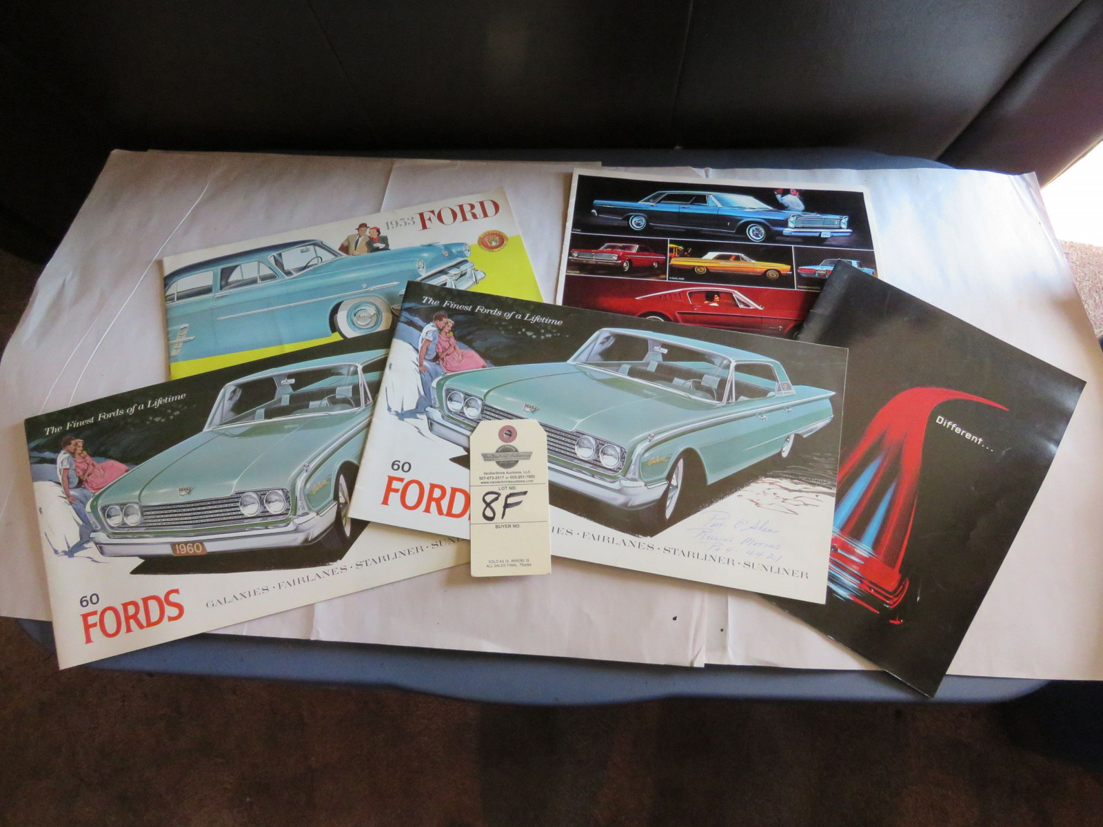 Grouping of Ford Automotive Literature - Image 1