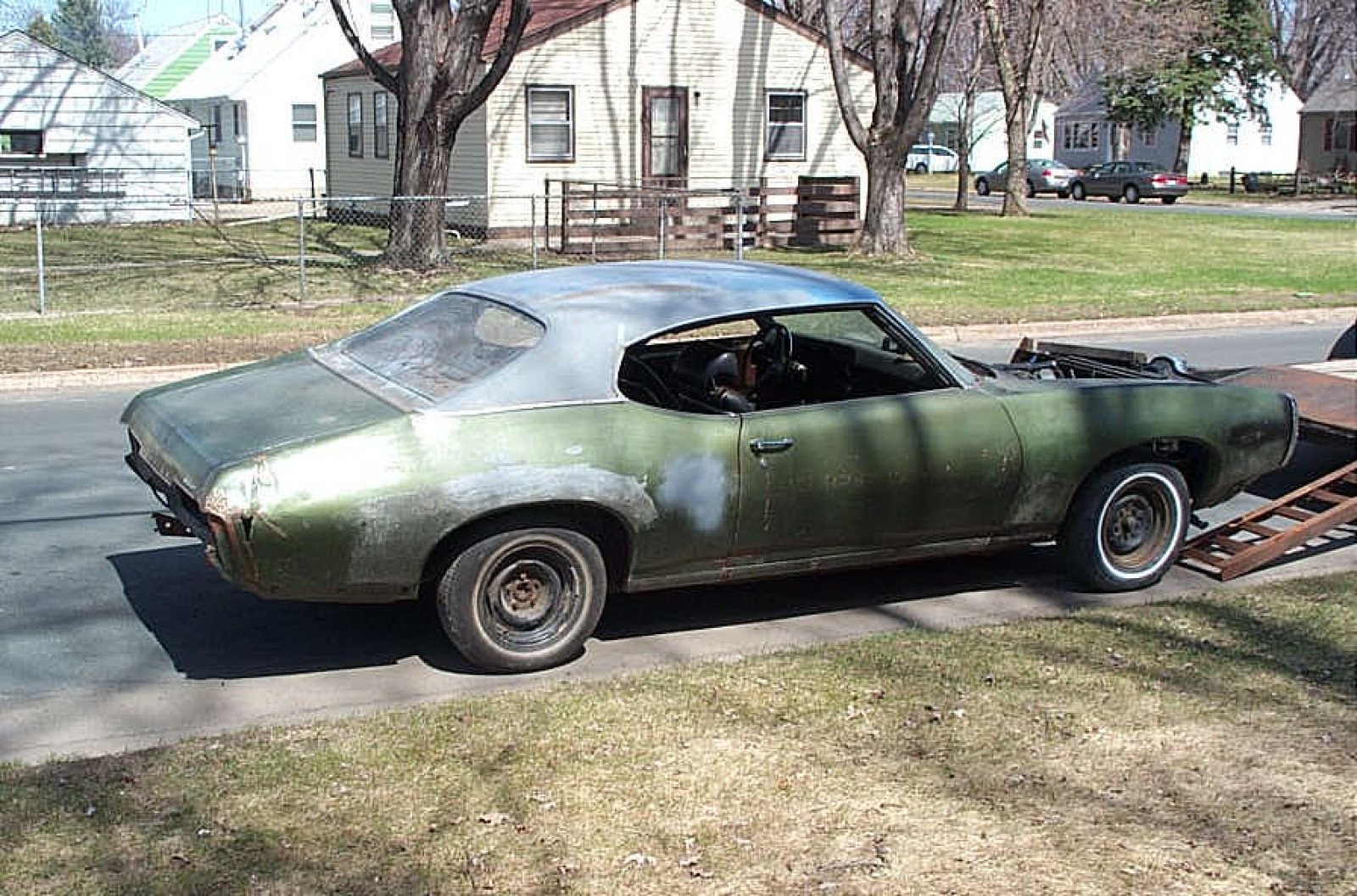 1969 Pontiac LeMans Coupe Project  23739R154354 - Image 1