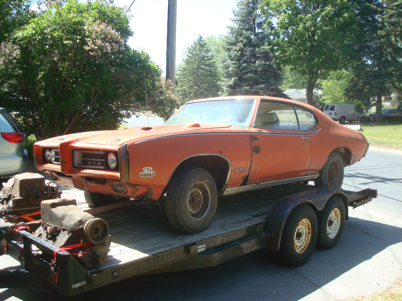 1969 Pontiac GTO RAM AIR IV Coupe Project - Image 1