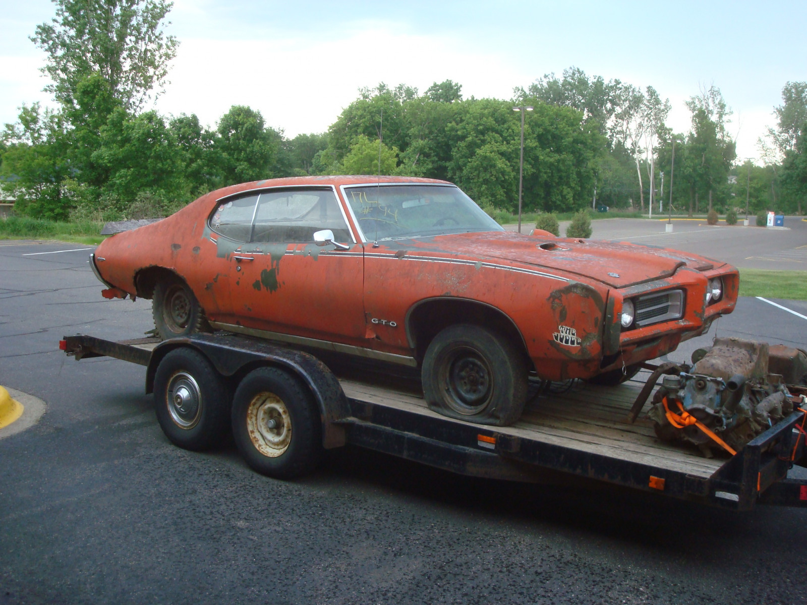 1969 Pontiac GTO RAM AIR IV Coupe Project - Image 2