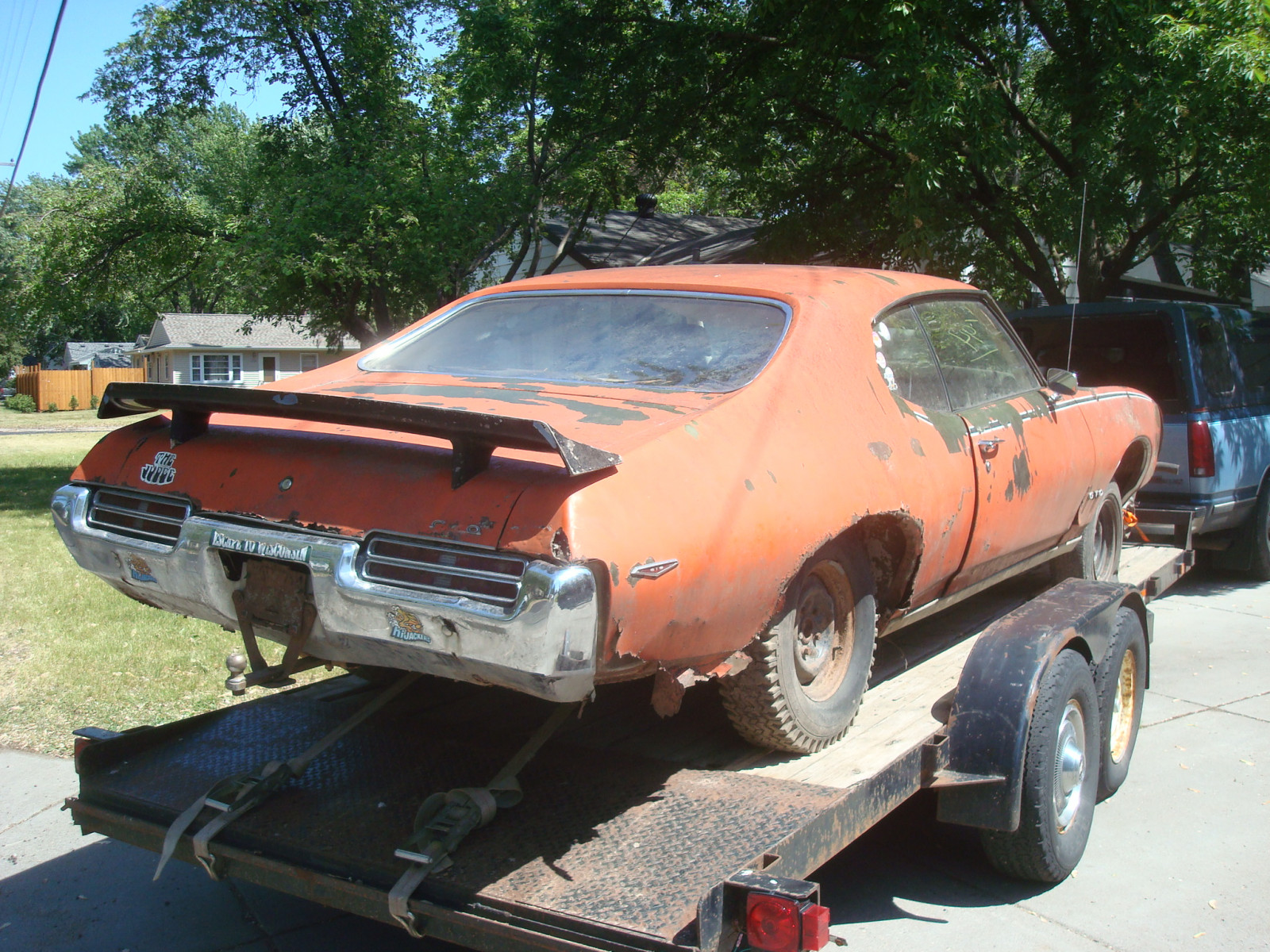 1969 Pontiac GTO RAM AIR IV Coupe Project - Image 3